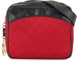 1990 Diamond Quilted Belt Bag
