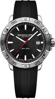 Raymond Weil Men's Swiss Tango Black Rubber Strap Watch 41mm 8160-SR2-20001, A Macy's Exclusive Style