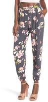 Leith Women's Floral Print Pants