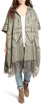 Rip Curl Women's Constellation Jacquard Hooded Poncho