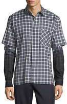 Public School Dunlap Double-Sleeve Shirt