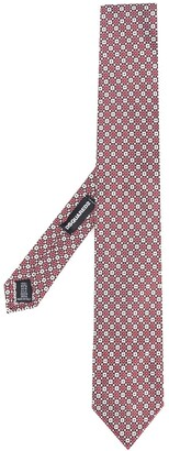 DSQUARED2 geometric pattern tie