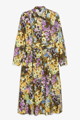 Monki Belted shirt dress