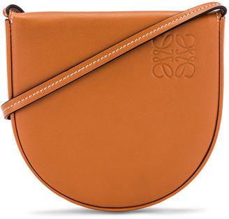 Loewe Heel Pouch Bag in Tan | FWRD