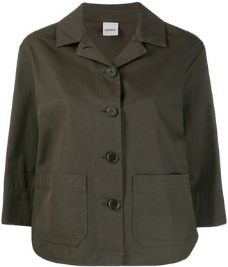 Aspesi 3/4 Sleeves Buttoned Jacket