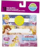 Neat Solutions Disney Princess Baby Cup Labels - Name Tag Stickers - 18 pack - NEW