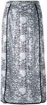 Marco De Vincenzo embellished polyester midi-length skirt