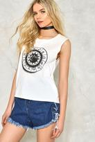 Nasty Gal nastygal What's Your Sign Graphic Tank