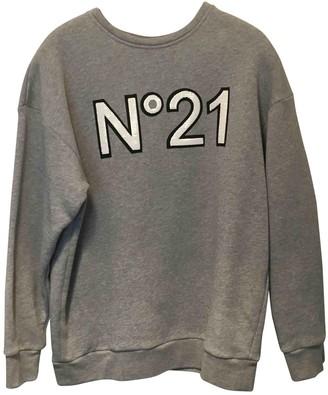 N°21 N21 Grey Cotton Knitwear for Women