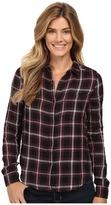 Calvin Klein Jeans Plaid Crinkle Double Cloth Long Sleeve Woven