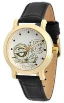 Sesame Street Women's Women's Gold Vintage Alloy Watch - Black