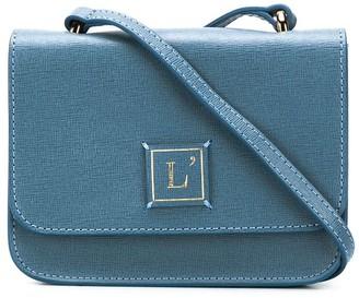 L'Autre Chose Mini Saffiano Crossbody Bag
