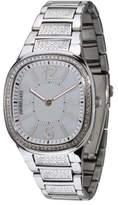 Morellato Capri SZ6015 Women's Analog Quartz Steel Watch, Bezel with Swarovski Crystals, White Dial and Steel Bracelet with Swarovski Crystals