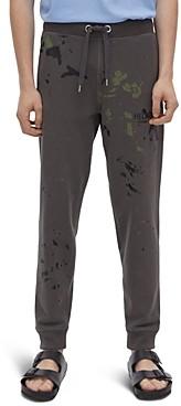 Helmut Lang Paint Splatter Sweatpants