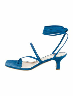 Paris Texas Suede Gladiator Sandals w/ Tags Blue