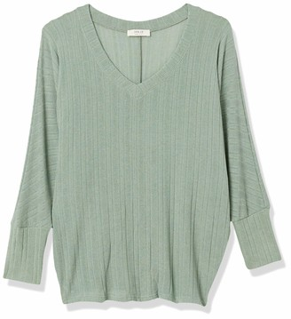 Forever 21 Women's Plus Size Ribbed Dolman Top