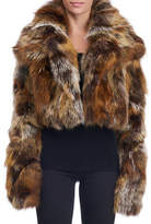 Michael Kors Cropped Fox Fur Jacket