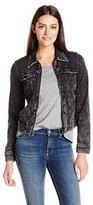 Liverpool Jeans Company Women's Zip Jacket in Powerflex Knit Denim