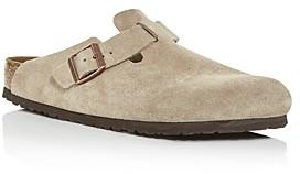 Birkenstock Men's Boston Suede Slide Sandals