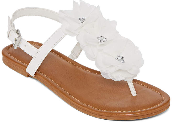 5bc8fded44b2 White Adjustable Strap Women s Sandals - ShopStyle