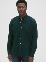 Gap Lived-In Stretch Oxford Shirt in Untucked Fit