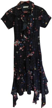 Preen Navy Polyester Dresses