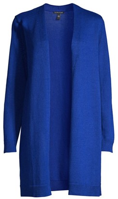 Eileen Fisher Longline Open-Front Cardigan Sweater
