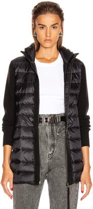 Moncler Tricot Mid Cardigan in Black   FWRD