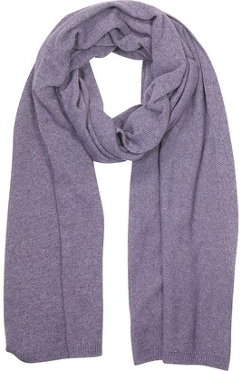 Mila Schon Solid Viscose, Cashmere and Wool Blend Scarf