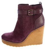 Tory Burch Platform Wedge Ankle Boots