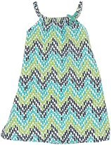 Hatley Slub Jersey Dress (Toddler/Kid) - Chevron-8