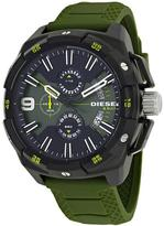 Diesel Heavyweight DZ4396 Men's Black IP Stainless Steel Chronograph Watch