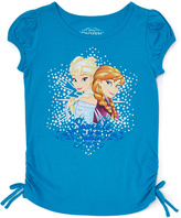 Jerry Leigh Aqua Angel Frozen Snow Burst Tee - Girls