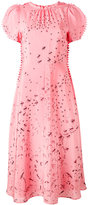 Valentino spike trim dress - women - Silk/Spandex/Elastane - 40