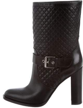 Gianvito Rossi Quilted Ankle Boots w/ Tags