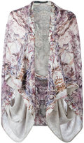 Alexander McQueen printed kimono - women - Silk - One Size