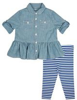 Polo Ralph Lauren Dress & Leggings Set