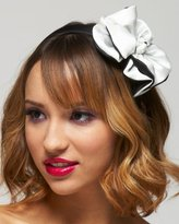 Silk Tux Bow Headband