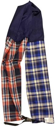 Moncler Multicolour Cotton Scarves & pocket squares