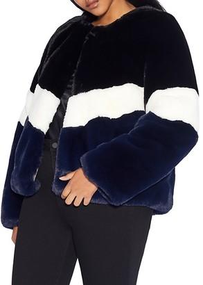 Apparis Brigitte Faux Fur Short Coat