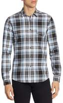 The Kooples Heathered Check Button-Down Shirt