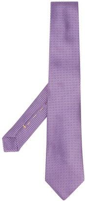 Canali Dot-Jacquard Tie
