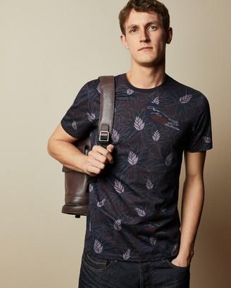 Ted Baker MULA Printed cotton T-shirt