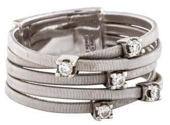 Marco Bicego 18K Diamond Goa Five Row Ring