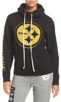 Junk Food Clothing Women's 'Pittsburgh Steelers' Cotton Blend Hoodie