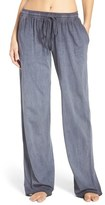 Daniel Buchler Women's Washed Cotton Pants