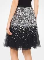 MICHAEL Michael Kors Sequined Tulle Skirt