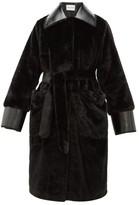 Stand Studio Pamella Faux-fur Coat - Womens - Black