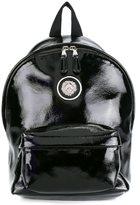 Versus lion head detail backpack