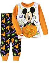 AME Sleepwear Disney Mickey Mouse Baby Boys Halloween Pajama Sleepwear Set